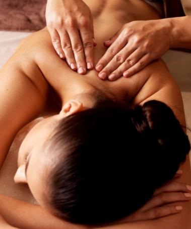 Massaggio rilassante olistico